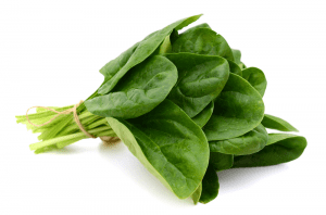 Spinach is better for anaemia