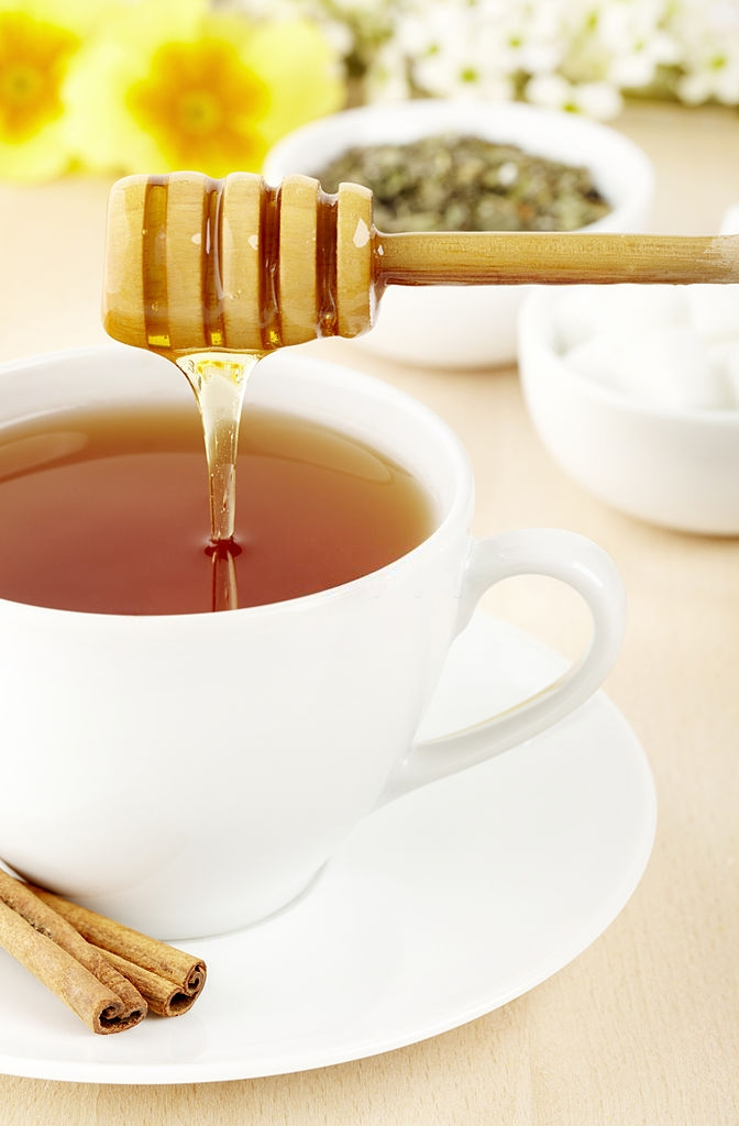 Green Tea And Honey For cough